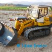 Carson Laderaupe Liebherr LR634 mit Braeker-Lock Schnellwechsler+HD Felsschaufel S | RC track loader quick coupler+HD Rock Bucket S
