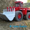 Reifenschutzkette am Modellradlader | Tyre protection chain at RC wheel loader