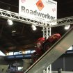 Radlader O&K L25 beim Truck Trial in der Roadworker Arena - Faszination Modellbau Friedrichshafen | RC wheel loader at trade fair